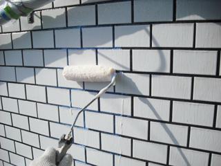 タイル面防水・保護透明塗膜
